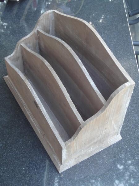 Briefe Für Leonie : Holz behälter für briefe etc pink troedel