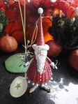 krinkles dash away santa ornament