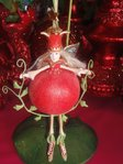 krinkles persephone pomegranate ornament