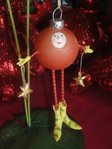 krinkles red ball ornament