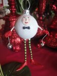 krinkles pearly ball ornament
