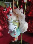 krinkles three french hens  ornament
