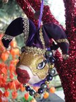 kissing fish masquerade purpel
