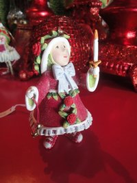krinkles donna's light elf ornament