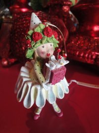 krinkles dancer's gift elf ornament