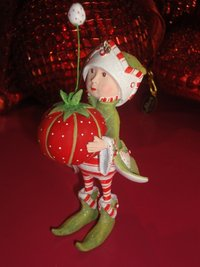krinkles prancer's tailor elf ornament