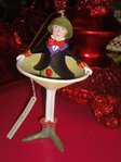 krinkles oliver martini ornament