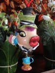 kissing fish mad hatter der hutmacher
