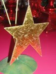 krinkles gold star ornament