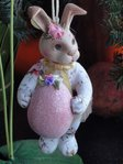 Katherine's Collection  chintz bunny b