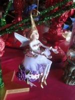 krinkles sugar plum fairy ornament