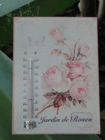 shabby chic thermometer