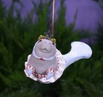 krinkles mabel manatee mermaid ornament