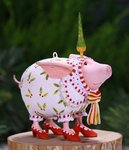 krinkles nanette dressed up pig mini